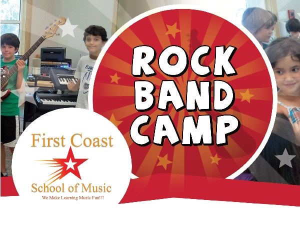 First Coast School of Music Rock Band Camp